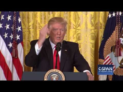 CLIPS: Donald Trump Press Conference (C-SPAN)