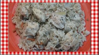 Creamy Chicken & Rice Bake Recipe ~ Noreen's Kitchen