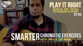 Taaqademy Play It Right Smarter Chromatic Exercises With Bruce Lee Mani