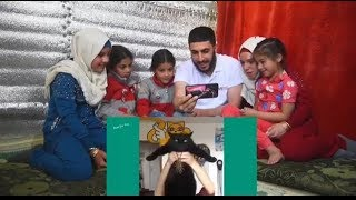 ORPHANS REACTING TO FUNNY CATS