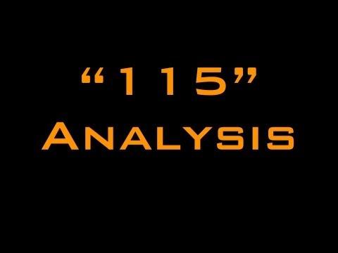 '115' Lyrics Analysis - CoD Zombies EE Song Series