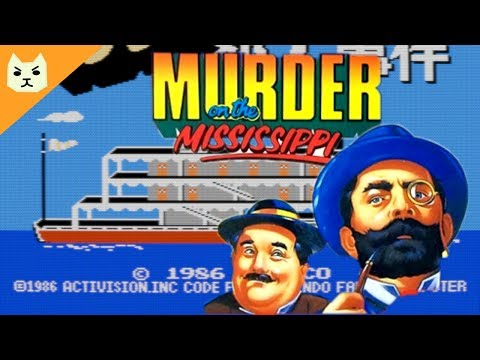 Let's Play Mississippi Satsujin Jiken / Murder on the Mississippi (NES) | Now in English