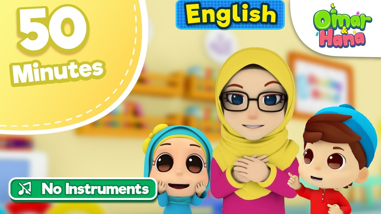 Miss Laila | 50 Minutes Compilation | No Instruments | Islamic Series & Songs For Kids