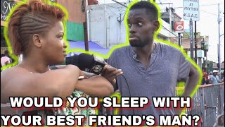 Would You Sleep With Your Best Friend's Partner | Public Interview