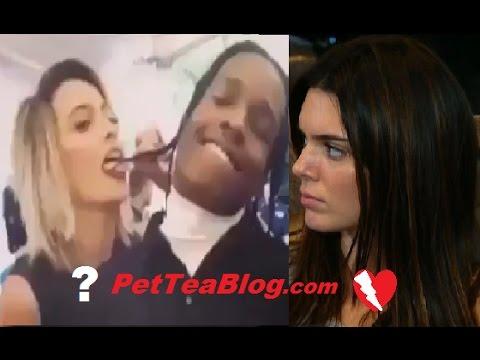 Michael Jackson Daughter LICKS Asap Rocky Dreadlocks at #MetGala2017