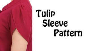 How to make Tulip Sleeve Pattern!!