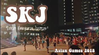 Download lagu Poco-Poco Dance ( athlete from Turkmenistan, Qatar, India, etc. )