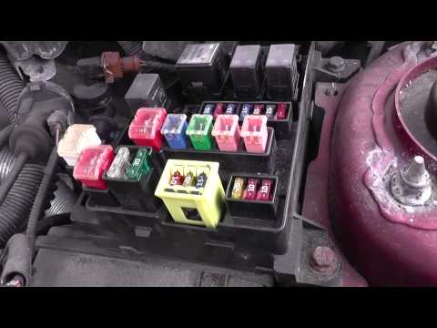 Volvo S40 Fuse & Relay Box Location Video