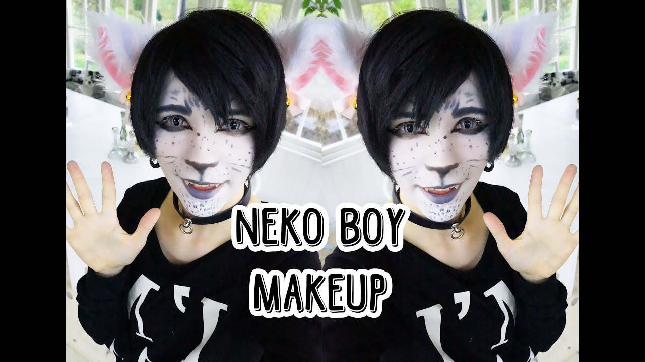 Neko Boy Makeup Youtube