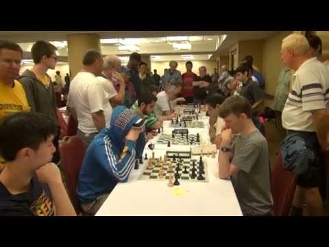 World Open Blitz Chess: Luke Vellotti vs. Conrad Holt {HD}