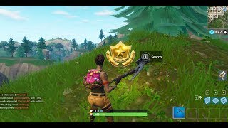 JAK SPLNIT - Follow the treasure map found in Pleasant Park