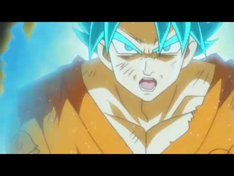 Super Saiyan Blue SSJB Goku Vs Golden Frieza - Dragon Ball Super