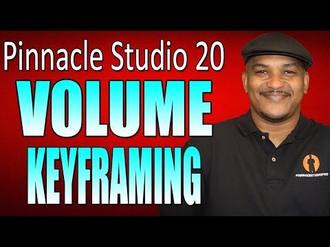 Pinnacle Studio 20 Ultimate   Volume Keyframing