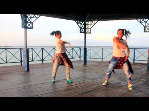 "Zumba "" Hoy Te Digo No By Maluma Ft Ozuna /Choreo By Chenci -Happy Holidays Marina Beach -Bontang"