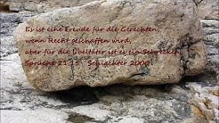 Scripture song Sprüche 21,15
