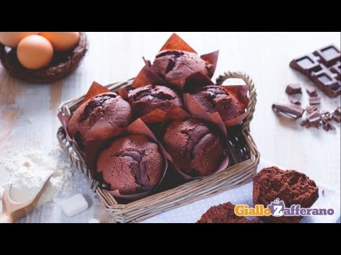 Muffin cioccolato e nutella bimby