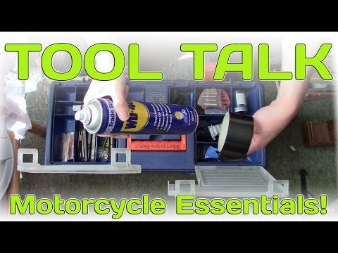 Tool Talk  Motorcycle Essentials!