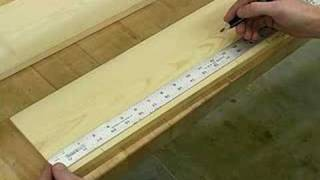 How To Make An Adirondack Side Table : Layout Feet For An Adirondack Side Table