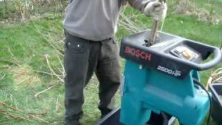 Garden Shredder - Bosch 2500HP ATX