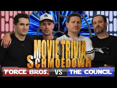 Star Wars Movie Trivia Schmoedown  Sam Witwer & Freddie Prinze Jr. Vs. John Campea & Ken Napzok