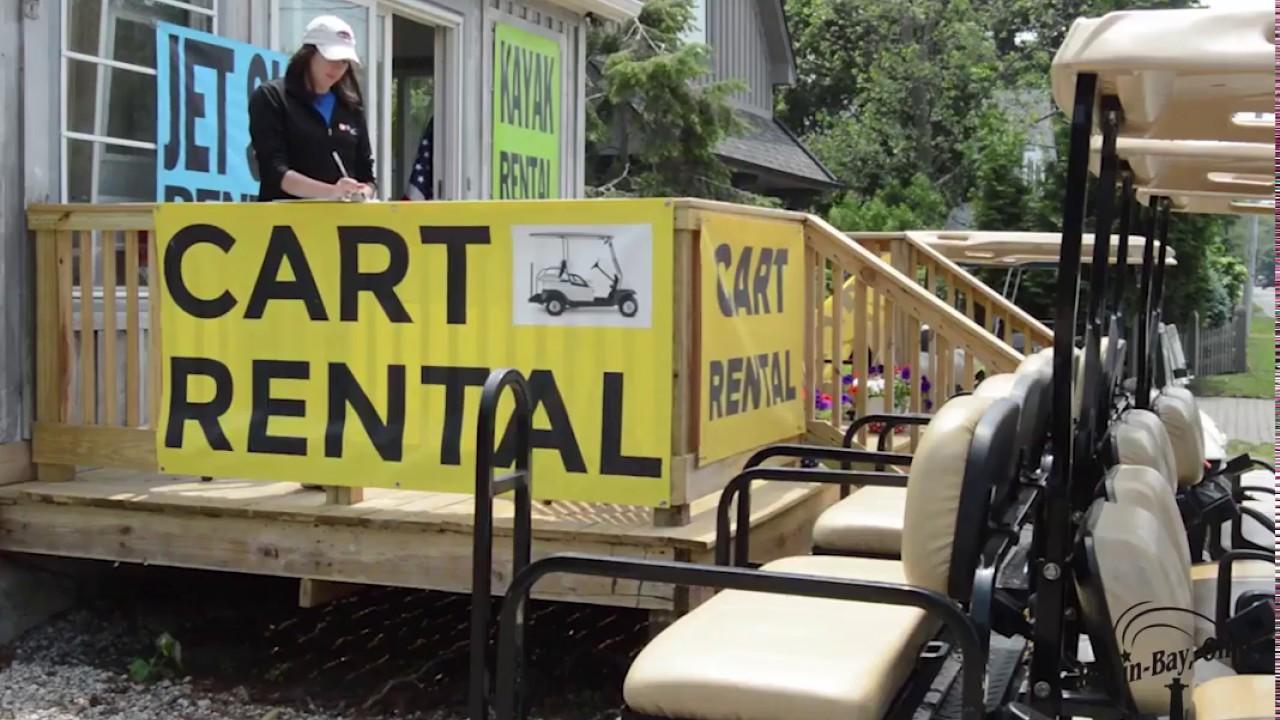 Put in Bay Golf Cart Rentals and Bike Rentals