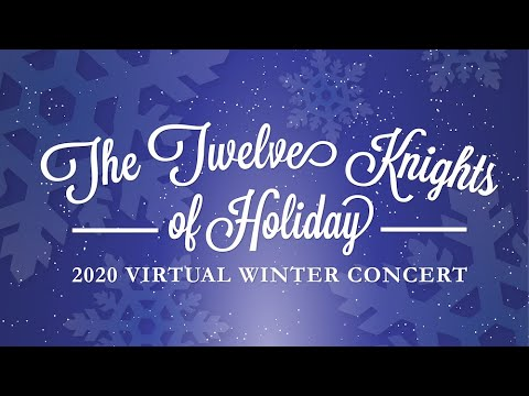 """The Pine School - """"12 Knights Of Holiday"""" 2020 Virtual Winter Concert, Middle School Chorus"""