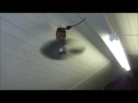 Redneck Garage Ceiling Fan