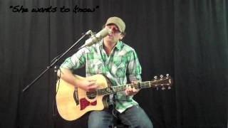 Derek Cate - She wants to know (Original) Acoustic Session Story of my life cd .mov