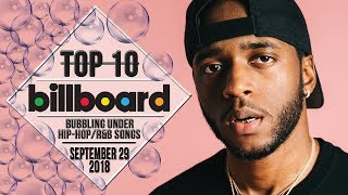 Baixar Top 10 • US Bubbling Under Hip-Hop/R&B Songs • September 29, 2018 | Billboard-Charts