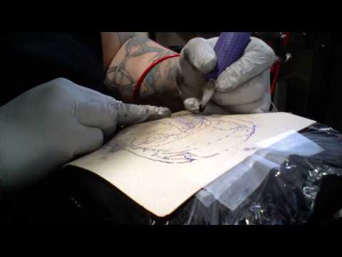 Tattoo practice skin apprentice by paul fitchew for Tattoo practice pig skin