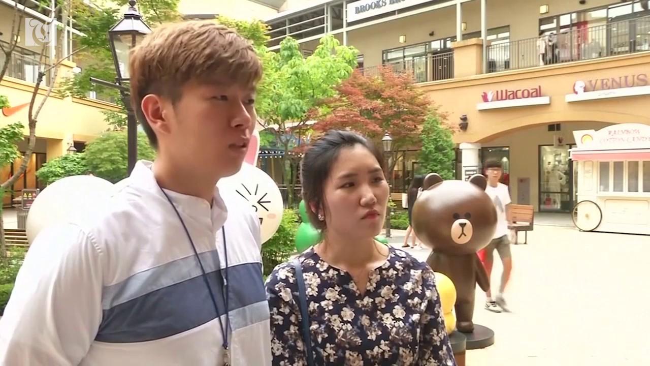 Tourists flock to border town near North Korea
