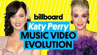 Katy Perry Music Video Evolution: