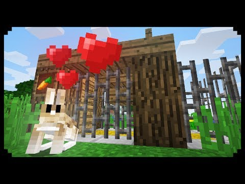 ✔ Minecraft: How To Make A Rabbit Pen