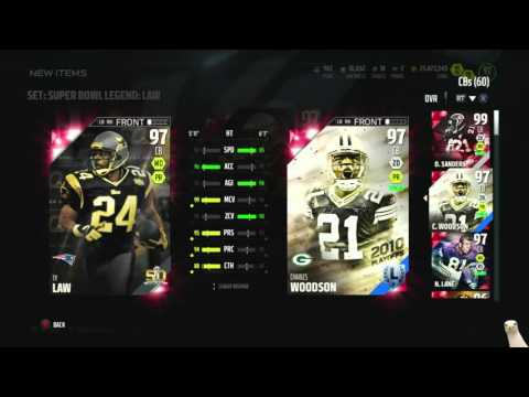 We Got 97 Super Bowl Legend Ty Law! ::-XBOX ONE Madden 16 Ultimate Team