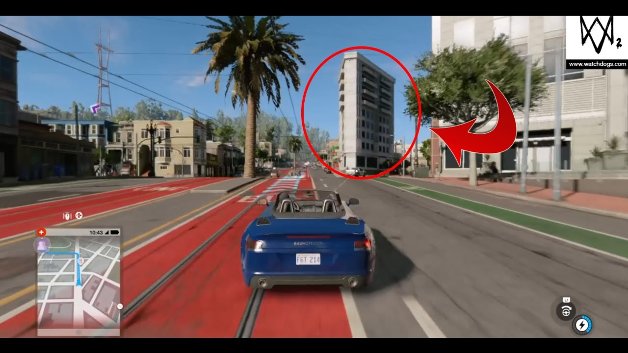 Flatiron Building in Watch Dogs 2