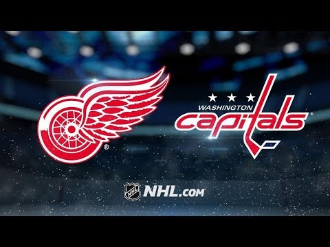Detroit Red Wings vs Washington Capitals | Nov.23, 2018 | Game Highlights | NHL 2018/19 |Обзор матча