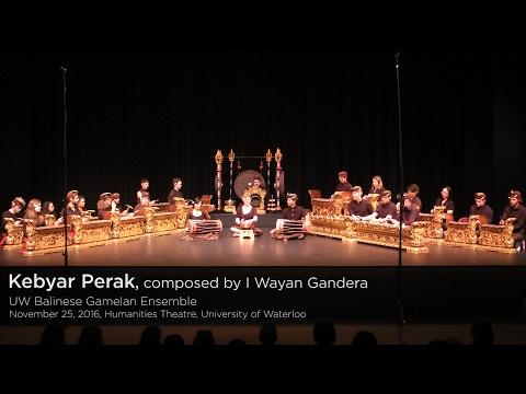 UW Balinese Gamelan Ensemble - Kebyar Perak
