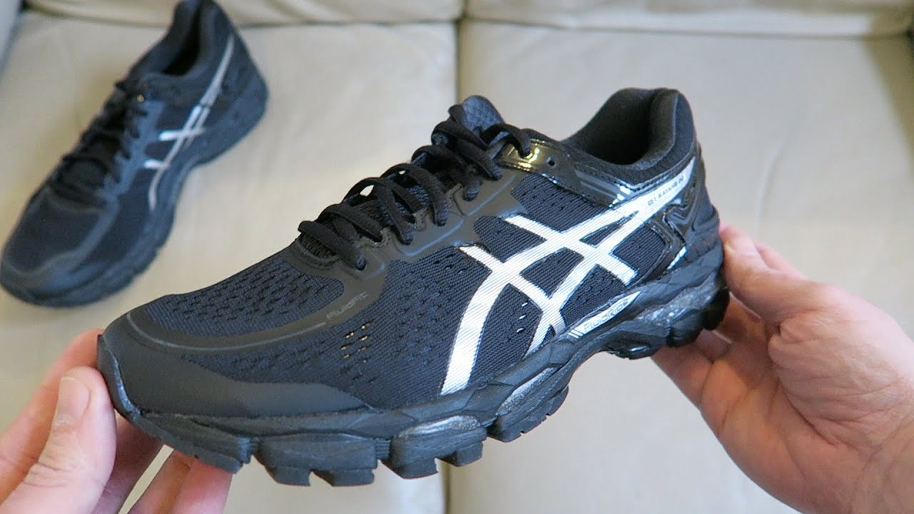 ASICS Gel-Kayano 22, Men's Running Shoes Trainers Unboxing T547N 9993 -  YouTube