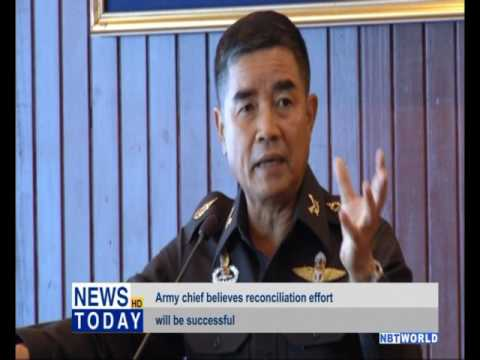 Army chief believes reconciliation effort will be successful