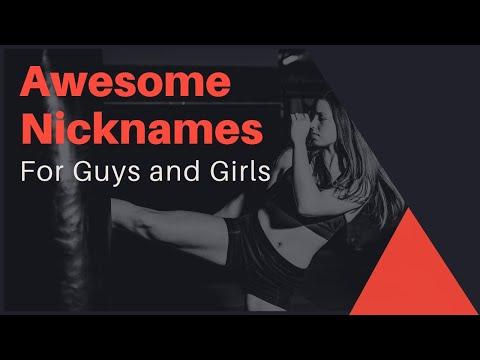 Badass Nicknames for Guys and Girls