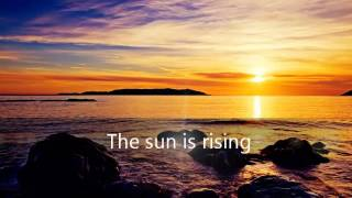 The Sun Is Rising - Britt Nicole (Lyrics)