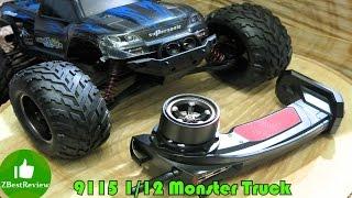 ✔ 9115 (GP S911) Самый Дешевый Monster 2WD, 1:12. Unboxing, Banggood