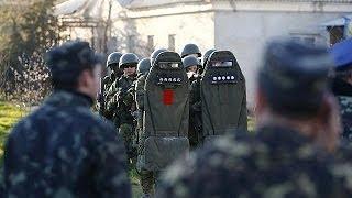 Российские военные взяли штурмом украинскую авиабазу в Бельбеке
