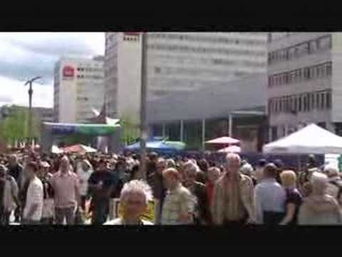 dixieland auf der prager str in dresden youtube. Black Bedroom Furniture Sets. Home Design Ideas