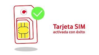 Cómo activar tu tarjeta SIM  Vodafone (particulares)