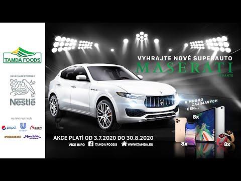TAMDA PROMO 2020  - HLAVNÍ VÝHRA - Giải đặc biệt siêu xe Maserati Levante trị giá 2.500.000 Kč