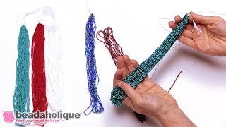 Quick Tip: How to Restring a Hank of Seed Beads