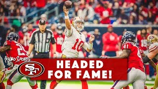 Live! Jimmy Garoppolo Ranked As Top 10 Quarterback, 49ers Head Into Final Week Minicamp