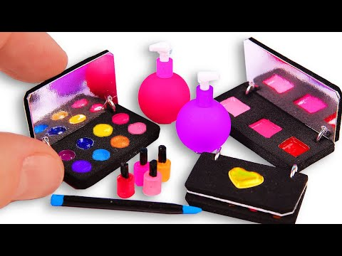5 DIY Makeup Miniatures ~ Eye shadows, eyeliner, etc.