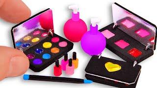 5 DIY Makeup Miniatures ~ Eye shadows, eyeliner, etc.